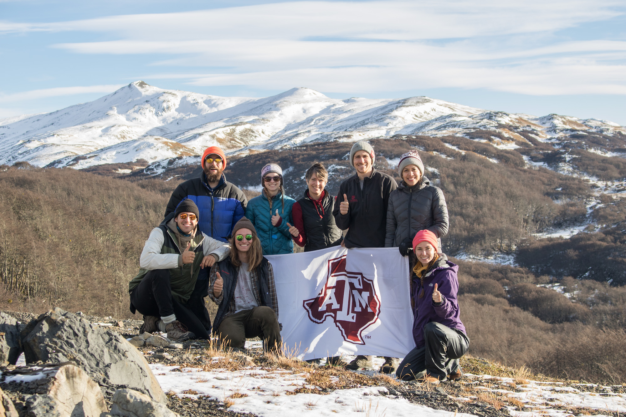 Faculty and Students in Patagonia